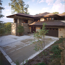 Contemporary Exterior by Genesis Architecture, LLC.