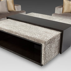 Contemporary Ottomans And Cubes by TJL Incorporated