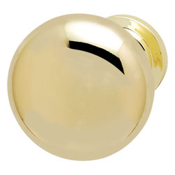 Hafele - Hafele 136.94.800 Brass Cabinet Knobs - Hafele item number 136.94.800 is a beautifully finished Brass Cabinet Knob.