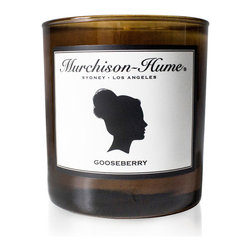 Murchison-Hume - Murchison-Hume Signature Candle -Gooseberry - We proudly offercandles, hand-poured in Los Angeles and feature a soy blend clean burn wax.  Our fragrances are free from phthalates, sulphates and parabens.  Our Gooseberry is a delicious cross between apple and lychee with a hint of tart pomegranate.