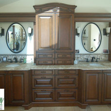 Traditional Bathroom by San Luis Kitchen Co.