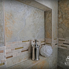 Contemporary Bathroom by Krista Agapito - S&W Kitchens, Inc.