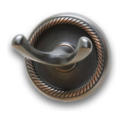 Residential Essentials - Venetian Bronze Woodrich Robe Hook(RE2103VB) - Venetian Bronze Woodrich Robe Hook