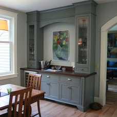 Traditional Dining Room by Jewett Farms + Co.