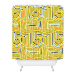 Heather Dutton Dunes Shower Curtain