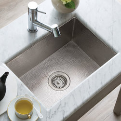 Cocina 21 Copper Kitchen Sink in Brushed Nickel by Native Trails -