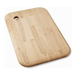 Tom Dixon - Tom Dixon | Chop Rectangle - Designed by Tom Dixon, 2012.Tom Dixon's Chop Rectangle chopping board is milled from solid European oak. Adorned with a gently curved edge and solid brass Tom Dixon logo, each chopping board is attractive enough to be used for both chopping and serving. A hole at the top can be used as a hanger or a handle.This accessory is from the ECLECTIC Collection- Tom Dixon's first collection to focus on everyday home accessories, giftware and design objects. Launched in January 2012 at Maison & Objet, the collection uses honest and resilient materials traditional to Tom Dixon, including copper, brass, marble, cast iron and wood. The products are informed by British heritage and each piece is designed to be used, played with, treasured or given.All ECLECTIC pieces make excellent gifts and arrive in packaging that is meant to inspire curiosity and anticipation.