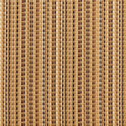Brown And Beige Woven Striped Luxurious Faux Silk Upholstery Fabric By The Yard - This upholstery fabric feels and looks like silk, but is more durable and easier to maintain. This fabric will look great when used for upholstery, window treatments or bedding. This material is sure to standout in any space!
