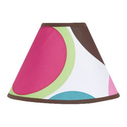 Sweet Jojo Designs - Deco Dot Lamp Shade - The Deco Dot lamp shade will help complete the look of your Sweet Jojo Designs room. This adorable lamp shade will most standard lamp bases (base not included). Dimensions: 4in. x 7in. x 10in.