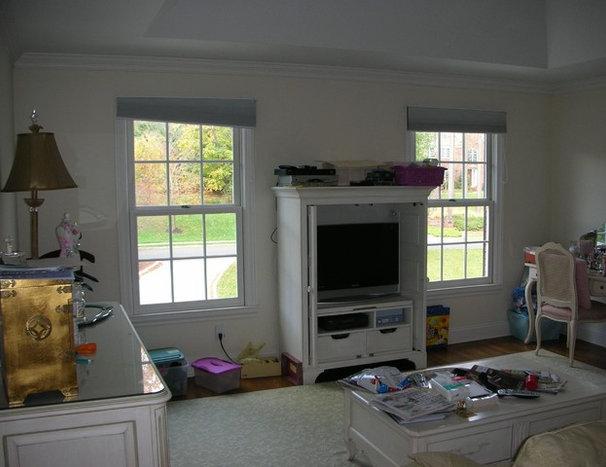 Traditional  Master Bedroom/Bathroom Suite with Sitting Room-Basking Ridge, NJ