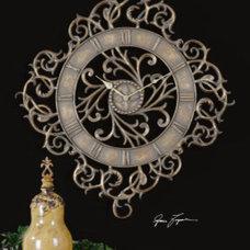 "Modern Clocks by Santa Monica Bay Lighting Since ""1976"""
