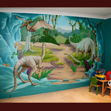 Contemporary Kids by One Red Shoe - Mural Artists