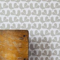 Modern Wallpaper by Rachel Powell