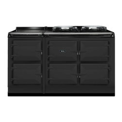 AGA Total Control 5 Oven Range Cooker, Pewter   ATC5-PWT - The new TC5, the latest model in the Total Control series, brings you five large cast iron ovens, two hotplates and a warming plate to deliver incredible capacity and flexibility.