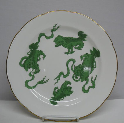 Asian Dinner Plates by Tabletop Designs