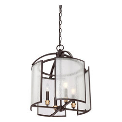 Quoizel Lighting - Fixture ChandelierQuoizel Fixture Collection - Foyer chandelier wstrn brnz