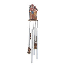 GSC - Wind Chime Round Top Native American Indian Family Hanging Decoration - This gorgeous Wind Chime Round Top Native American Indian Family Hanging Decoration has the finest details and highest quality you will find anywhere! Wind Chime Round Top Native American Indian Family Hanging Decoration is truly remarkable.