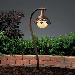 """Kichler - Kichler 15369TZT Vintage Park Path & Spread Light 15369TZT - Textured Tannery Bronze finishBody Height: 26.5"""" Bulb Included: Yes Bulb Type: 3155K Collection: Vintage Park Finish: Textured Tannery Bronze Length: 9.5"""" Number of Lights: 1 Primary Max Watt: 18.5 Watt Socket 1 Base: Wedge Socket 1 Max Wattage: 19 Style: Victorian Type: Path Light Voltage: 12 Volt Width: 7"""""""