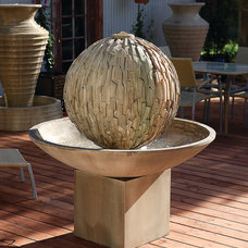 Eclectic Outdoor Fountains And Ponds by Serenity Health & Home Decor