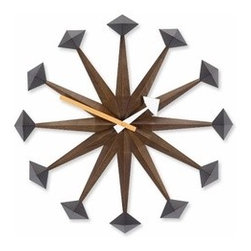 Vitra - Vitra | Polygon Clock - Design by George Nelson, 1961.