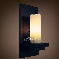 Candle Wall Sconce - Szie: L15cm X W15cm X H32cm