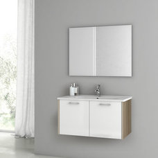 Contemporary Bathroom Vanities And Sink Consoles by TheBathOutlet
