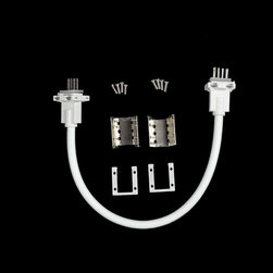 EnvironmentalLights - RGB IP68 Jumper Connector Kit (for RGB LED Neon 4-wire) - This is an IP68 jumper kit for RGB or RGA LED Neon. Simply follow the step-by-step installation instructions listed in the product manual. Kit includes anti-skidding clips, aluminum mounting pieces, rubber gaskets, jumper, and screws. Easy to use!