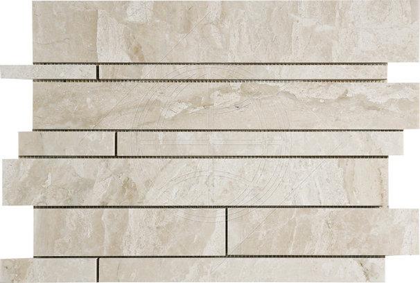 Contemporary Mosaic Tile by Rebekah Zaveloff | KitchenLab