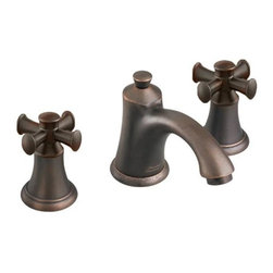 American Standard - American Standard Portsmouth Widespread Faucet with Brass Spout (7415.821.224) - American Standard 7415.821.224 Portsmouth Widespread Faucet with Brass Spout, Oil Rubbed Bronze