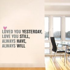 Eclectic  wall decal
