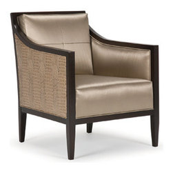 Brooke Chair - Sleek and luxurious, the Brooke Chair will add a sophisticated, cosmopolitan look to your space.