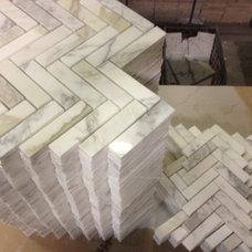 Modern Mosaic Tile by TILEBUYSIMON