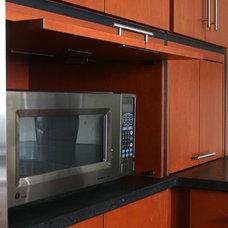 Kitchens .com - Mountain Modern Kitchen with Appliance Garage#photo#photo#photo