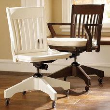 Swivel Desk Chairs & Cushions   Pottery Barn