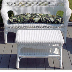 Home Decorators Collection - Sahara Loveseat - Finely woven detailing, rich color and beautiful curves give the Sahara Loveseat a look of lasting elegance. You can expect this patio furniture to last season after season with its sturdy structure and quality, weather-resistant materials. Hand-woven of UV-resistant resin wicker with a rattan frame. Virtually maintenance free; cleans easily with a mild detergent. Ideal for outdoor and indoor use. Cushion and cocktail table sold separately.