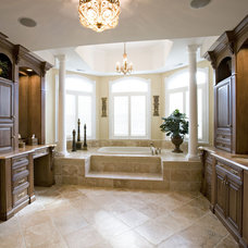 Traditional Bathroom by Custom Woodworking