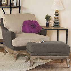Eco Upholstered Chair - Another comfy chair for your bedroom, if you have the space. It just looks inviting. The matching ottoman is separate and priced at $849.
