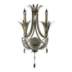 Cyan Design - Two Lamp Wall Bracket-5213-2-33 - Two lamp wall bracket - st. regis bronze