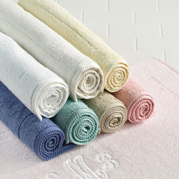 Matouk Luxury Tub Mat - Leave it to Horchow to source these amazing tub mats from Matouk. Their soft pastel colors and lush materials are sure to suit your style.
