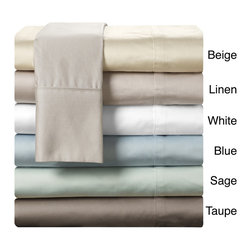 Chic - Chic Home 1000 Thread Count Egyptian Cotton DeepPocket Sheet Set - Add comfort to your sleep with the Chic Home ultra soft 1000 thread count sheet set. Made from 100-percent Egyptian cotton,these sheets are available in a variety of colors that will complement your current decor.