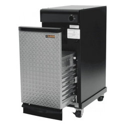 "Whirlpool - GACP15XXMG Gladiator 15"" Garage Trash Compactor with 1.4 cu. ft. capacity  1/3 H - Now you can have all the benefits of a trash compactor without taking up valuable kitchen space The Gladiator Compactor features rugged Gladiator Styling complete with casters for easy mobility while delivering superior trash management for your gara..."