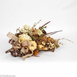 Fall Silk Floral Arrangements -
