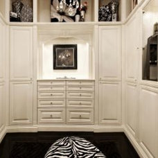 Traditional Closet by Goodall Custom Cabinetry