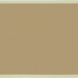 Bay GRE - The hand woven sisal rugs of the Bay collection are perfect for any decor, modern or classic. The elegantly simple hand woven design is available with a border in six different colors, perfect for matching any room.