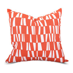 Outdoor Salmon Sticks Large Pillow
