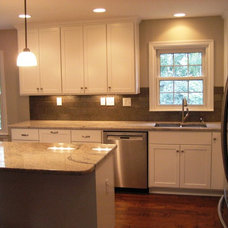 Transitional Kitchen by Terri Bennett - Periwinkle Interiors, LLC