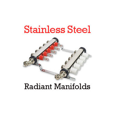 Plumbing and Heating Manifolds - Radiant Heating Manifolds trade quality DIY and home improvement PEX supplies at great low prices
