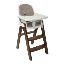 Oxo Tot - OXO Tot Sprout High Chair - The OXO Tot Sprout High Chair combines safety and comfort with style and ingenuity. This high chair has an easily adjustable seat, footrest and tray.