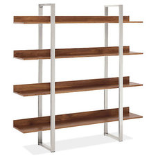 contemporary bookcases by Room & Board