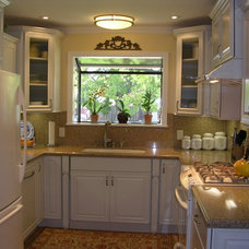 Traditional Kitchen by Marina V. Phillips